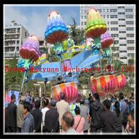 Wholesale Outdoor playground amusement rides rotating and lifting jellyfish rides from factory from china suppliers