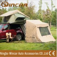 Wholesale Simple convenient easy to build tent and Awning car camping side tent from china suppliers