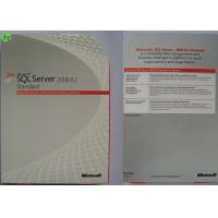 Wholesale Windows Server 2012 Data Center / Standard Retail Version With Online Activation Warranty from china suppliers