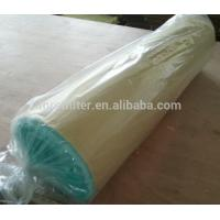 Quality FORST Green and White Fiberglass Hepa Filter Rolls Paint Air Filter Material for sale