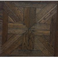 Wholesale wood parquet floor-brushed oak from china suppliers
