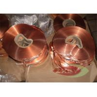 Wholesale Oxygen Professional 1181 Copper Foil Roll Sheet , Copper Strip from china suppliers