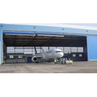 Wholesale Single Bay PEB Steel Aircraft Hangars With Electrical Roll-up Doors from china suppliers
