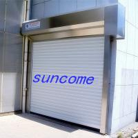 Wholesale Rmote Control Aluminum Alloy Security Door Rolling Up Door For Warehouse from china suppliers