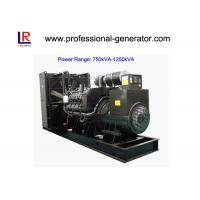 Wholesale Low Noise 50Hz/60Hz Diesel Powered Generator 900kVA/720kw Water Cooling from china suppliers