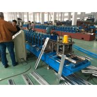 Quality Hydraulic Cutter Perforated Shutter Door Roll Forming Machine With Automatic Punching System for sale