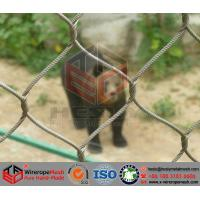 Wholesale Stainless Steel Wire Cable Mesh/Zoo Mesh/Animal Cage​ from china suppliers