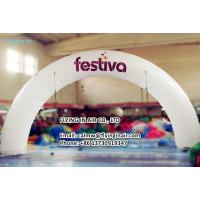 Wholesale 10m Outdoor Printing Inflatable Arch with Logo For Business Show from china suppliers