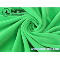 Wholesale Soft woven baby velvet for swaddling clothes pajamas fabric and apparel from china suppliers