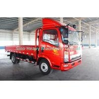 Wholesale 120hp HOWO Cargo Light Duty Commercial Trucks , Red Fire from china suppliers