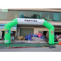 Wholesale Commercial Inflatable Start Finish Arch Fireproof Durable Custom Logo from china suppliers