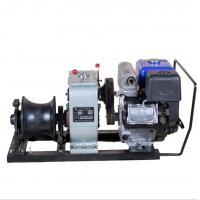 Wholesale Custom Engine Powered Winch / 5 Ton Cable Wihch With YAMAHA Engine from china suppliers