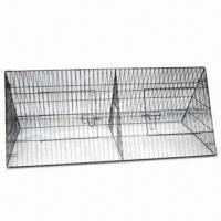 Wholesale Metal Pet Cage, Durable Anti-rust Black Epoxy Coating from china suppliers