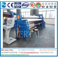 Wholesale CE cert Hydraulic High Quality Steel Bending Machine W12 16x3200 4 rolls symmetrical plate bending roller machine price from china suppliers