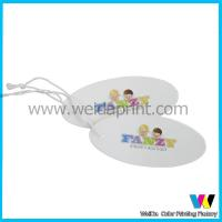 Wholesale Shiny Surface personalized Printing C2S Paper price Tags with String from china suppliers