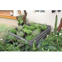 Buy cheap raised garden bed,ALDI &Kmart Choice raised garden bed 80x60x30 metal garden bed with gree from wholesalers