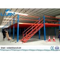 Wholesale Double T-Steel Storage Mezzanine Platforms , Workshop Warehouse Mezzanine Systems from china suppliers