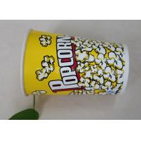 Wholesale 85oz Custom Printed Paper Cups , Paper Popcorn Boxes Containers OEM Acceptable from china suppliers
