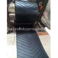 Wholesale 400-2500mm Width Chevron rubber conveyor belt for inclination conveying from china suppliers
