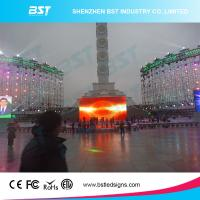 Quality P6 Full Color Large Outdoor Advertising LED Display Video High Resolution for sale