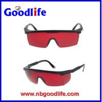 Wholesale PC safety glasses with red color safety glasses protective goggles from china suppliers