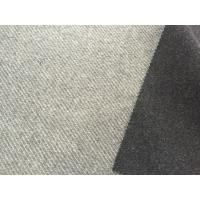 Wholesale Different Color Two Layers Wool Striped Fabric Skin Friendly 750g/m from china suppliers