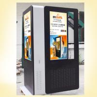 "Quality 65"" Water Proof Outdoor Interactive Kiosk , 1080P Double Side Lcd Digital Signage for sale"