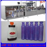Wholesale E-liquid/E-juice/E-cigarette/vape standard plastic bottle forming and filing and sealing machine from china suppliers