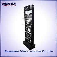 Wholesale Two Sides Custom Metal Hooks Corrugated Cardboard POP Display Stand For Hats from china suppliers