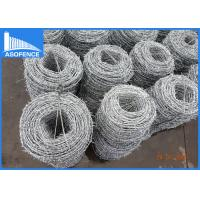 Wholesale 14 Gauge Double Razor Barbed Wire Stainless Steel With 4 Barb Piece from china suppliers