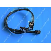 Wholesale SFF 8643 To 4x SATA SAS Hard Drive Cable Black Multilane With 4 Channels from china suppliers