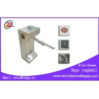 Wholesale Half Height Tripod Turnstile Gate With Fingerprint Access Control from china suppliers