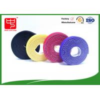 Wholesale Plastic hook 2 sided hook and loop tape / back to back Strapping  Hook and Loop Cable Tie from china suppliers