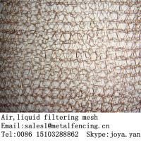 Buy cheap Wholesale wire mesh for filtering liquid and gas copper 40mm width gasketing & sealing stocking knitted wire mesh from wholesalers
