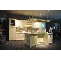 Buy cheap white classic kitchen cabinet design from wholesalers
