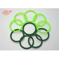 Buy cheap Fluorine Rubber O Ring Heat Resistant , Green O Rings For Aircraft Engine from wholesalers