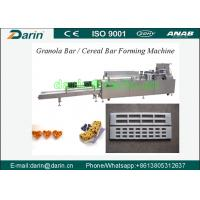 Wholesale Automatic rice cake / sugar cereal Bar Forming Machine with capacity 350~500kg per hour from china suppliers
