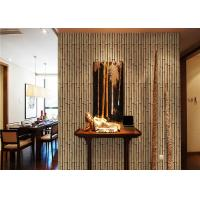 Wholesale Bamboo 264g / m2 living Interior Room Wallpaper CE / ISO / SGS / CSA from china suppliers