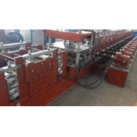 Wholesale 3 Ton Hydraulic Decoiler Guard Railway Roll Forming Machine Hydraulic Cutting 11 KW from china suppliers