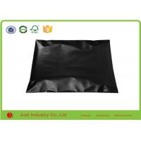 Wholesale Moisture Proof Custom Mailing Bags 23 X 33cm , Black Color Plastic Courier Bags from china suppliers