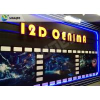 Wholesale SGS Dynamic 12D Cinema XD Simulator With 3 DOF Chairs / Motion Chair System from china suppliers