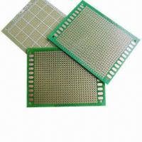 Wholesale Double-sided PCBs, Universal Printed Circuit Board, Vero Perf-board, Two Sides Copper  from china suppliers