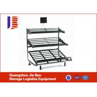 Wholesale Cold Rolled Steel Fruit And Vegetable Rack , Shop Light Duty Adjustable Metal Shelving from china suppliers