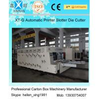 Wholesale Smooth Running Automatic Cartoning Machine Carton Flexo Printer Slotter Die Cutter from china suppliers