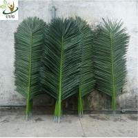 Wholesale UVG PTR014 Palm tree leaves artificial with fabric leaves for home garden decoration from china suppliers