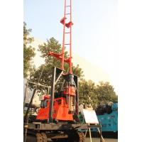 Wholesale 200m Crawler Drilling Rig With Mud Pump Well Drilling Rig 360° Angle Range from china suppliers