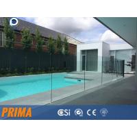 Wholesale Top grade clear frameless laminated glass balustrades for pool from china suppliers
