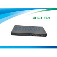 Wholesale 1 port GPON OLT / EPON OLT 19 in 1U  Stand Alone Box 1 GE TX SFP Combo Ports from china suppliers