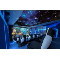 Wholesale Small  5D Movie Theater with luxury PU leather Motion chairs from china suppliers