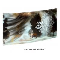 Buy cheap Custom Decorative Laminated Glass For Hotel Decoration / Office Partition from wholesalers